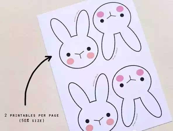 幼儿园三角形动物图案设计
