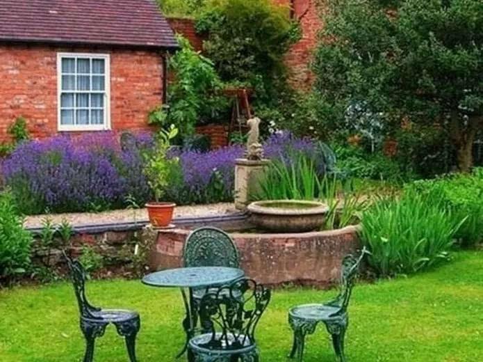 英式别墅庭院