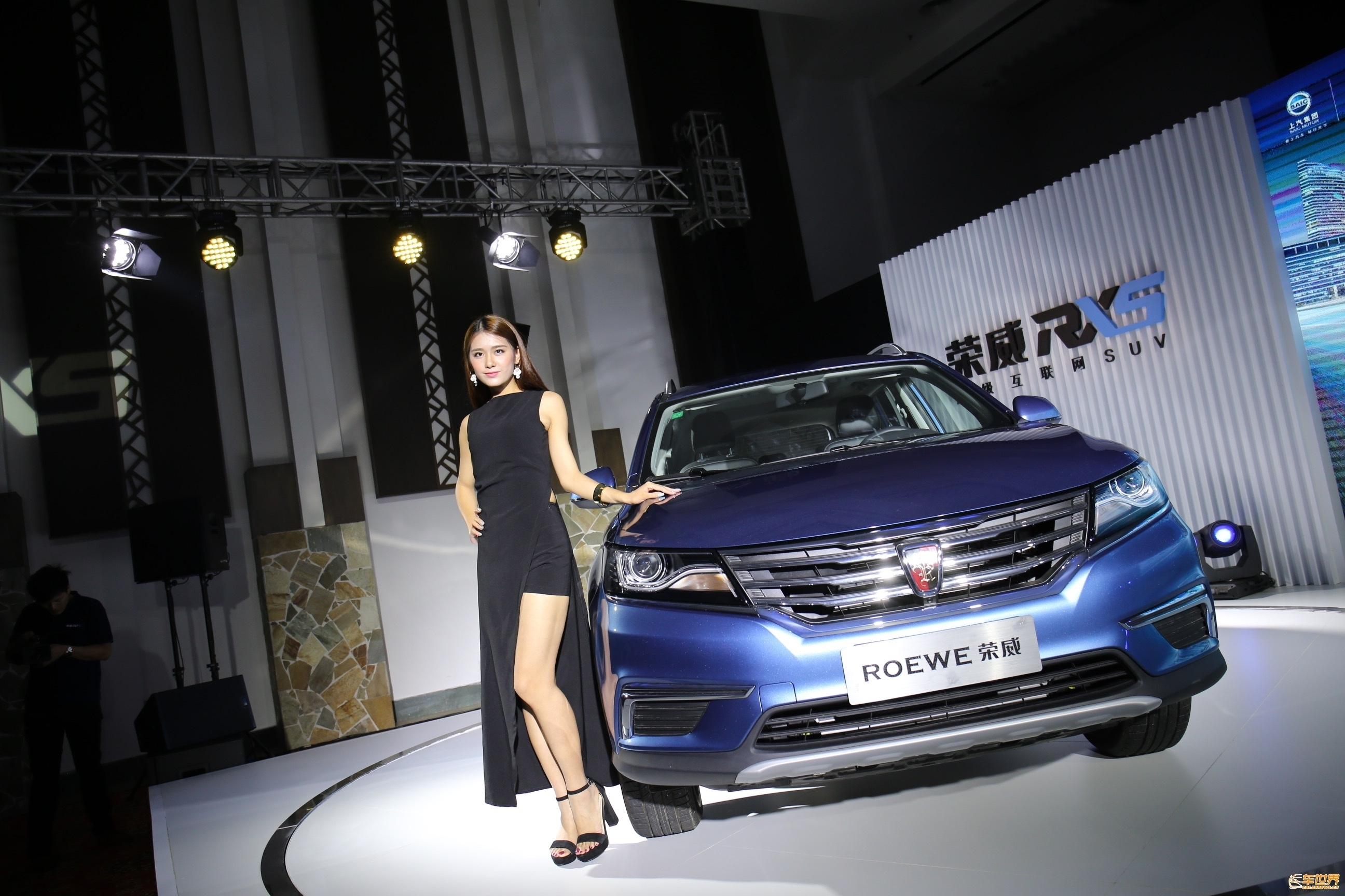 国最好SUV 荣威RX5上市即交车高清图片