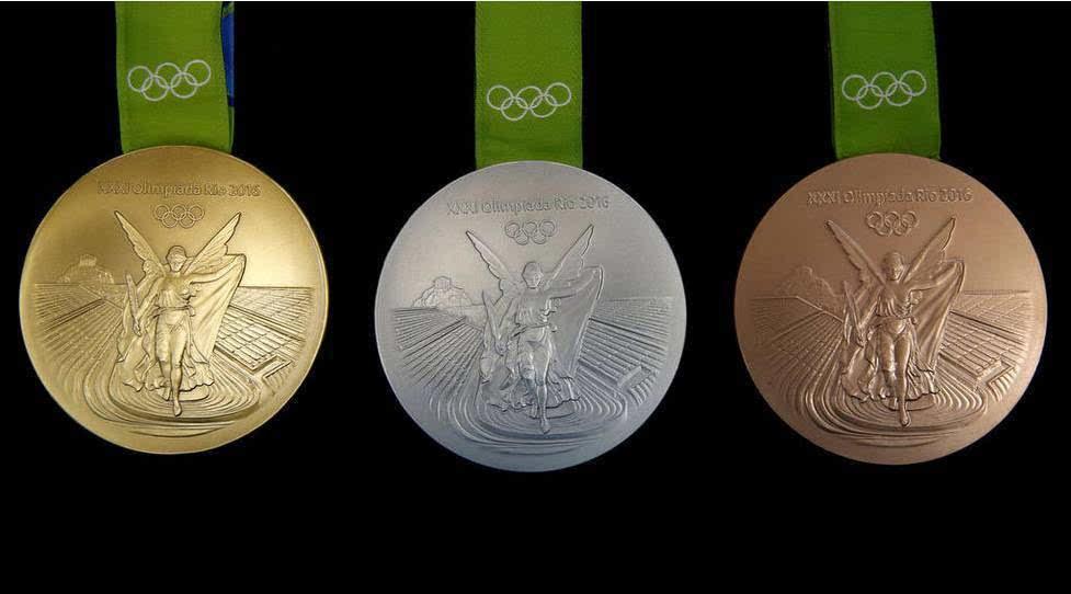 2016里约奥运会奖牌设计理念,将环保进行到底,元素中竟有回收的塑料瓶