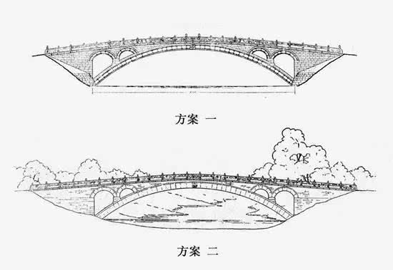 回到北京后,梁思成立即向国民政府上书报告了赵州桥的情况.