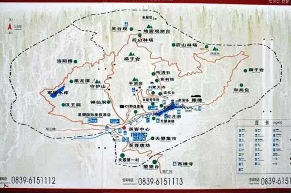 再送你一张旅游线路图,一图在手随便走