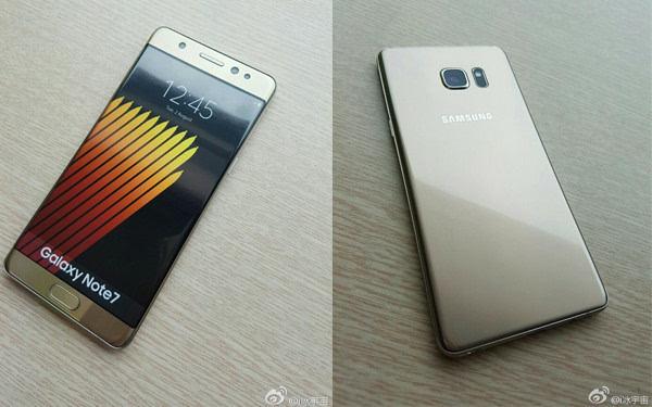 三星Galaxy Note 7今晚发布 真机照提前流出的照片 - 1