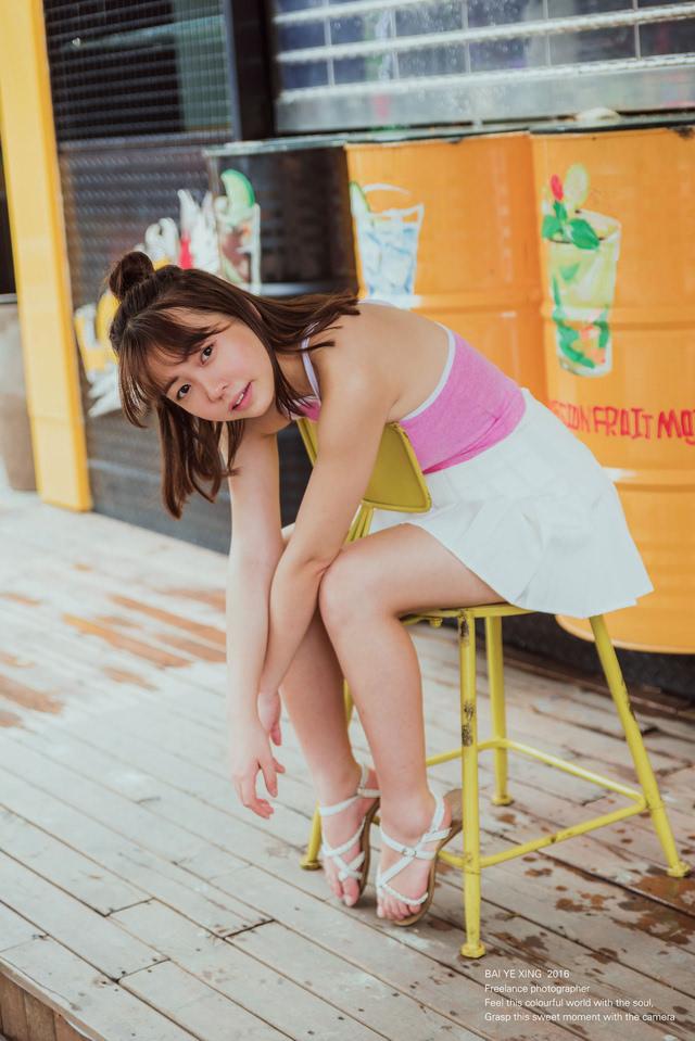 可爱颂 女孩的笑容很可爱