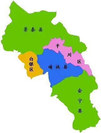 甘肃景泰营兰线地图