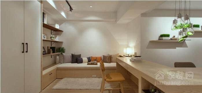 小户型空间创意设计,开放式北欧风格文艺范图片