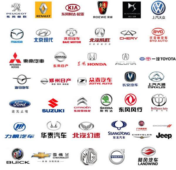 福特,上汽大众,东风日产,东南三菱,标致,雪铁龙,江淮,别克,雪佛兰图片