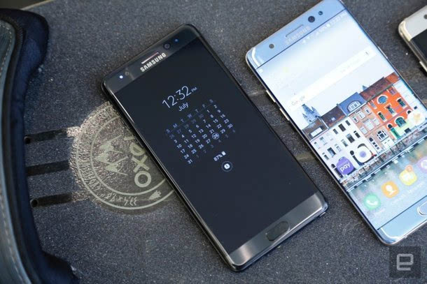 真机美如画:三星Galaxy Note7四色上手图赏的照片 - 24