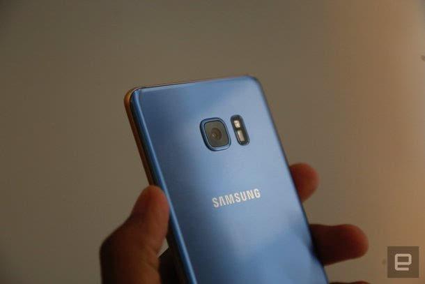 真机美如画:三星Galaxy Note7四色上手图赏的照片 - 29