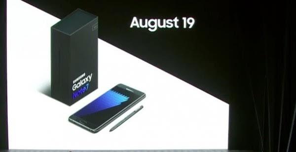 虹膜识别+S Pen升级 三星Galaxy Note 7正式发布的照片 - 9