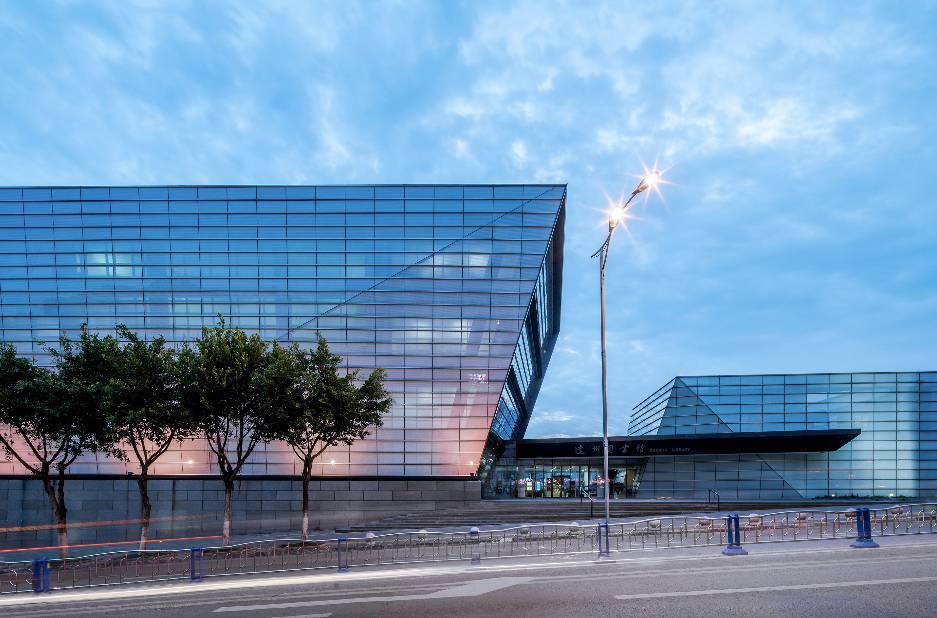 代外形和建筑内部的达州市图书馆/中国温暖西电脑对3d配置设计吗要求图片