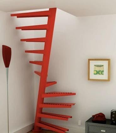 单跑楼梯图片-三跑楼梯_最不占空间的楼梯图片_双跑