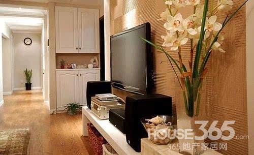 现代中式电视背景墙 打造别样风格