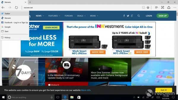 Windows 10 周年更新今日起正式开放下载的照片 - 8