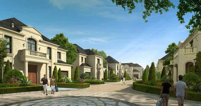 绿城·雅园,中国别墅营造大师绿城地产在无锡首作法式图片