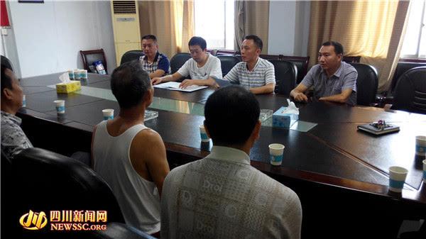 广安经开区领导到奎阁街道慰问涉军人员_搜狐