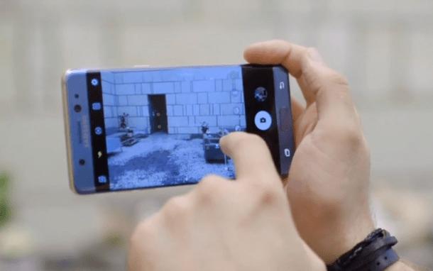 大屏机皇首秀:三星Galaxy Note7上手视频的照片 - 2