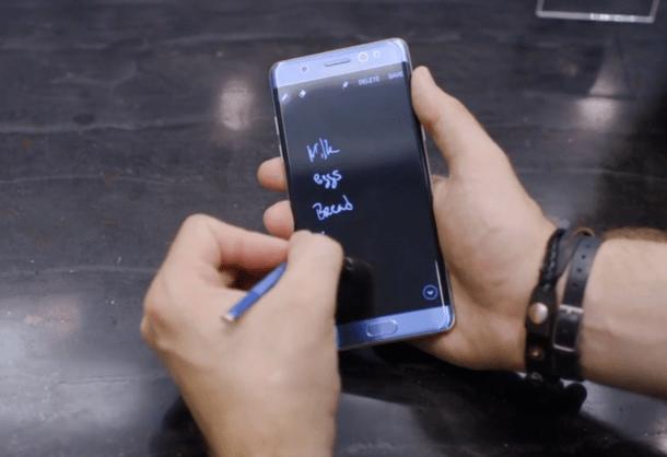 大屏机皇首秀:三星Galaxy Note7上手视频的照片 - 9