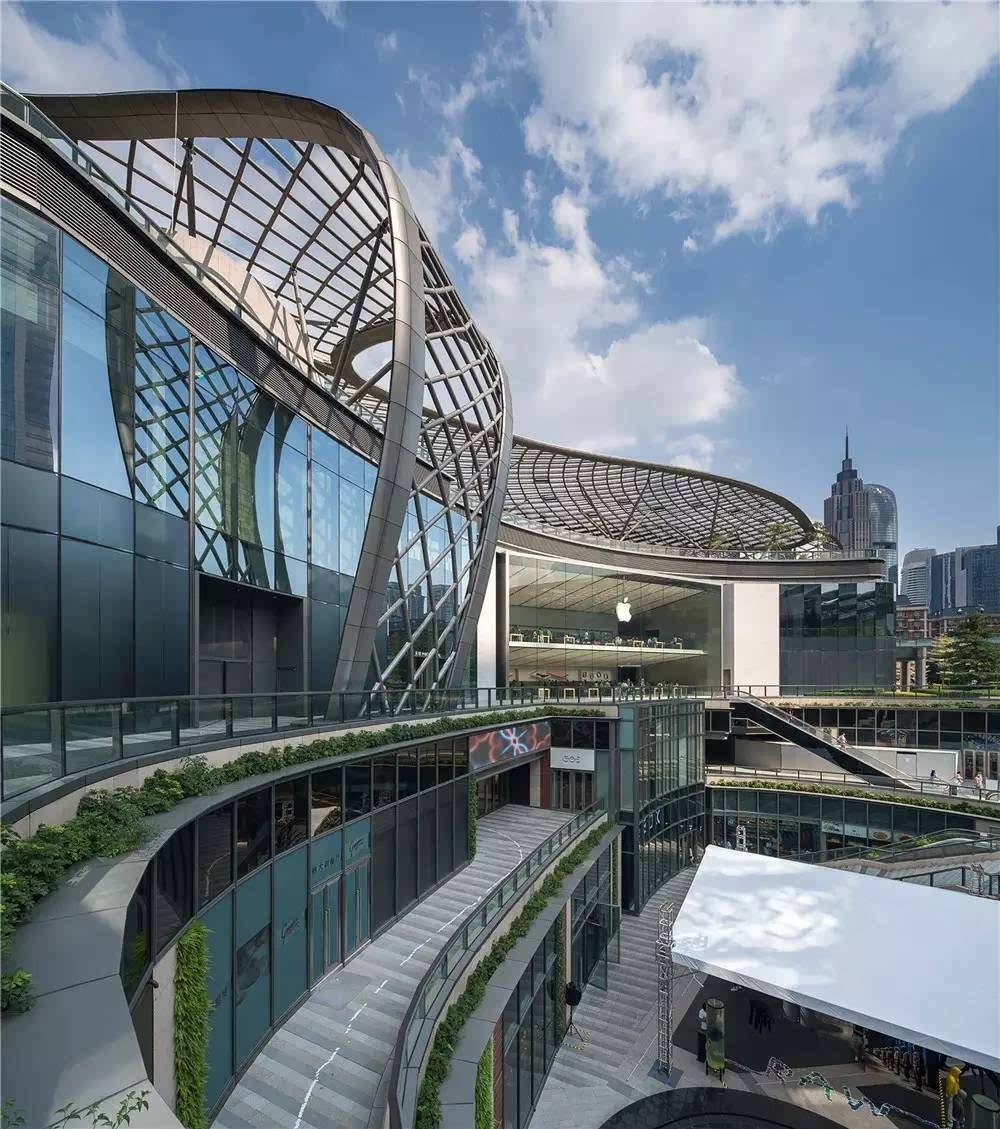 新作| 贝诺设计了一座像开放式公园的商场图片