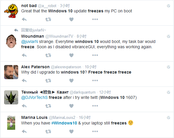 升级Windows 10周年更新部分用户遭遇卡死BUG的照片 - 2