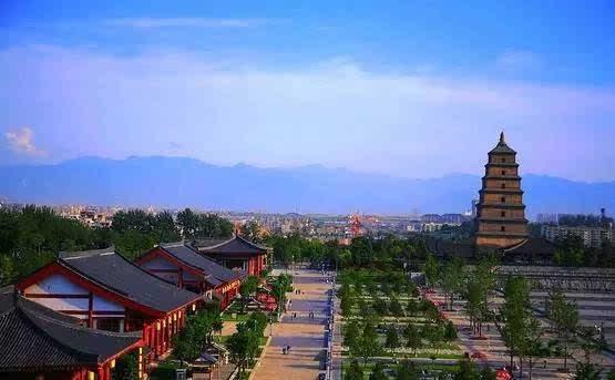 西安大雁塔-大唐芙蓉园景区