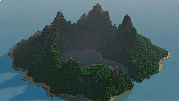 """搜索:""""多玩我的世界 惊魂绝命岛""""即可下载该地图.(更多精彩游戏图片"""