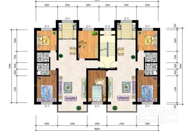 房间内部结构图