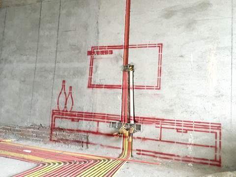 施工放线能核对装修图纸与现场实际是否相符合,确保整个家装工程顺利