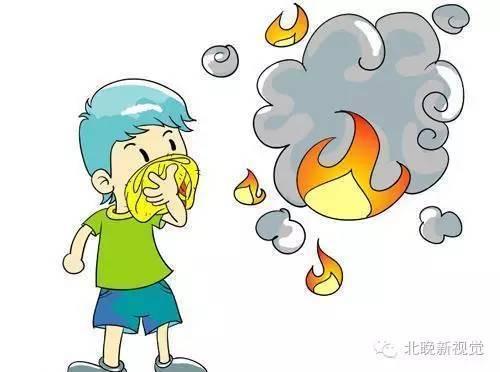 京城提醒 遇到火灾,儿童该怎么办