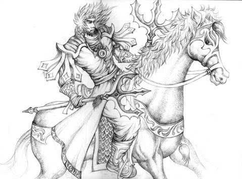 隋唐时期,都有哪些名将,他们的兵器都是什么?