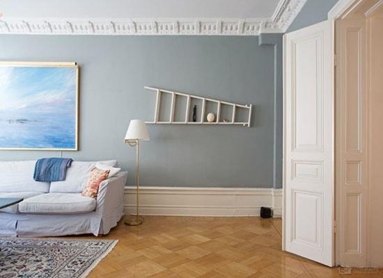 将简洁进行到底 北欧装修风格背景墙