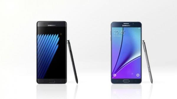 是否值得升级?Galaxy Note 5/Note 7规格参数对比的照片 - 1