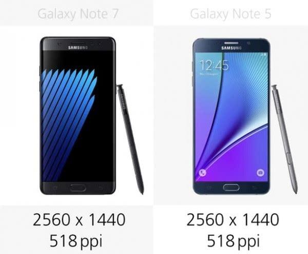 是否值得升级?Galaxy Note 5/Note 7规格参数对比的照片 - 7