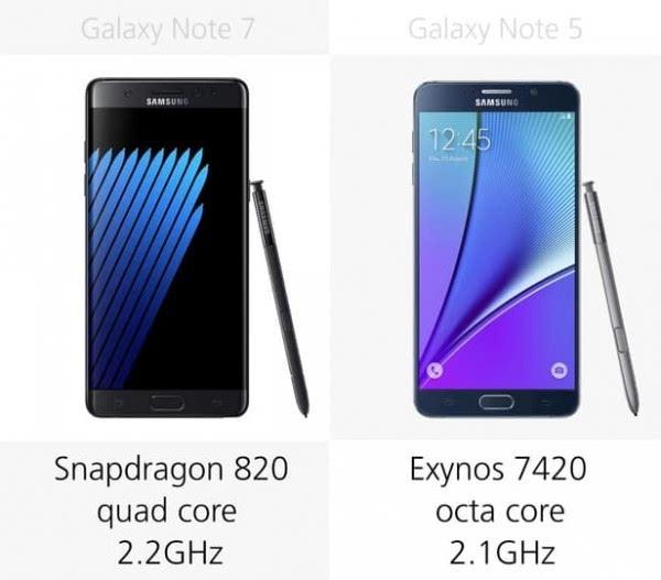 是否值得升级?Galaxy Note 5/Note 7规格参数对比的照片 - 16