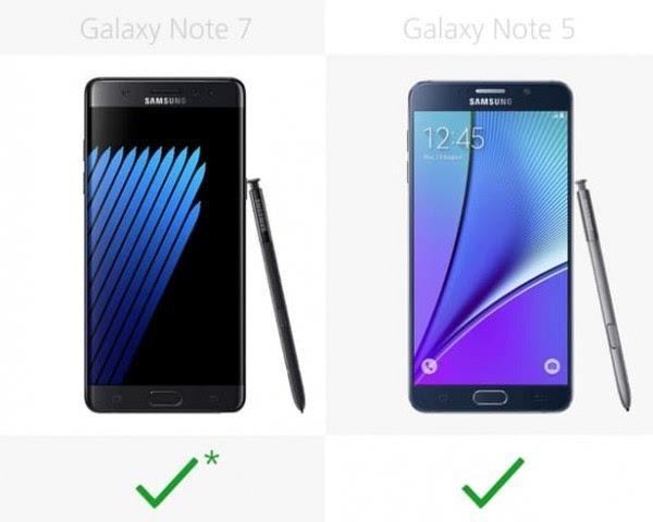 是否值得升级?Galaxy Note 5/Note 7规格参数对比的照片 - 27