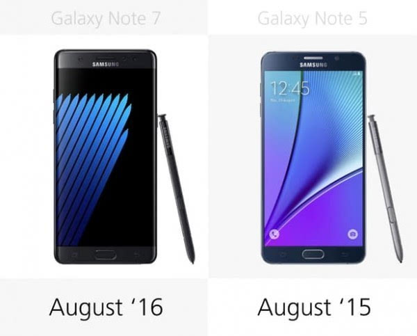 是否值得升级?Galaxy Note 5/Note 7规格参数对比的照片 - 29
