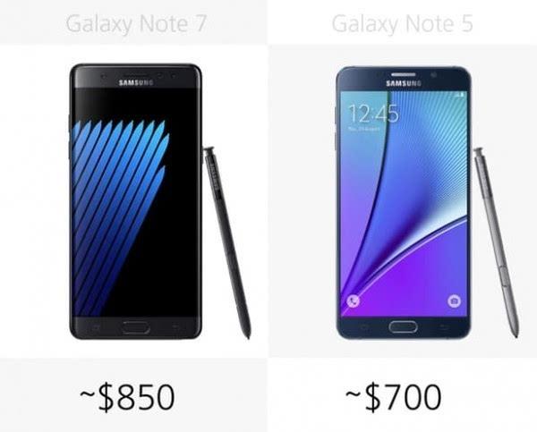 是否值得升级?Galaxy Note 5/Note 7规格参数对比的照片 - 30