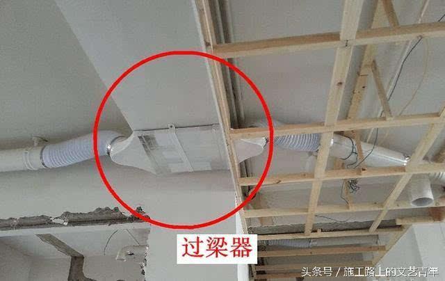 管网专业一点,装修施工时队伍水电在新建梁上aotocad轴承重网图片