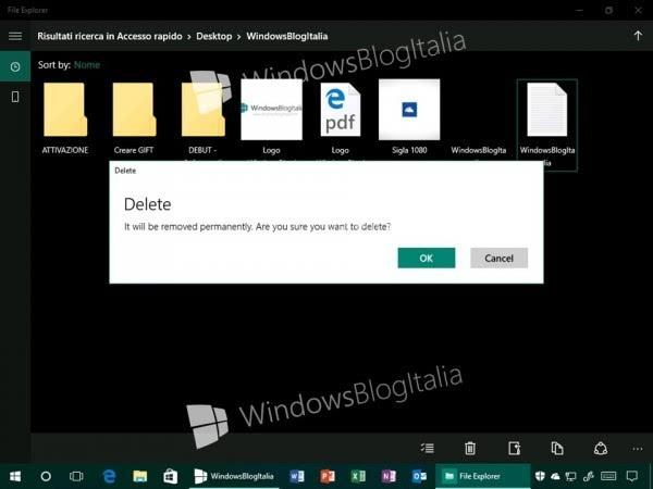 Windows 10全新文件资源管理器曝光?的照片 - 1