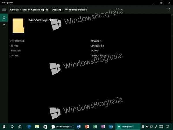 Windows 10全新文件资源管理器曝光?的照片 - 10