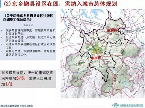 抚州市市内地图