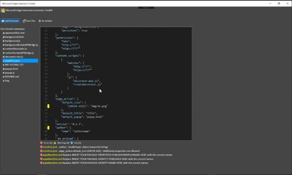 微软发布Edge浏览器Chrome插件转制工具的照片 - 1