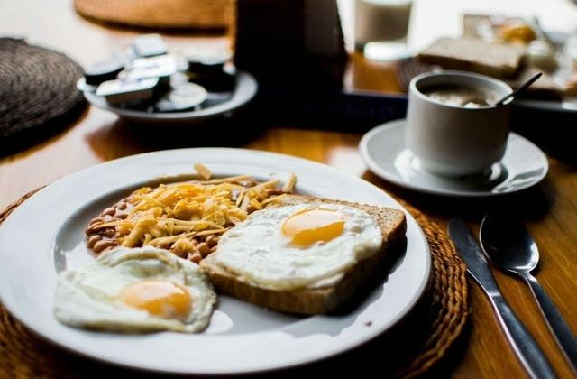 美味西式早餐图片小清新壁纸