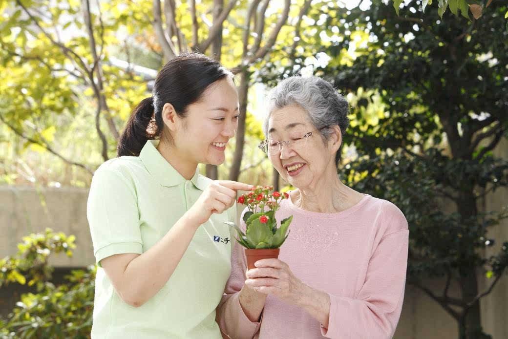 日本老人生活照