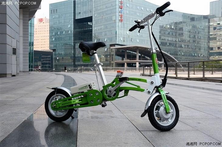 猛狮戴乐智能折叠电动自行车骑行初体验