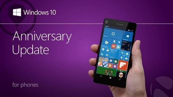 Windows 10 Mobile周年更新将于8月9号到来 运营商稍等一周的照片