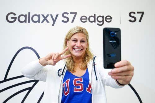 苹果三星在里约奥运会上偷偷掐了一架的照片 - 1