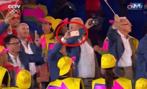苹果三星在里约奥运会上偷偷掐了一架的照片 - 3