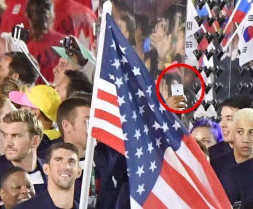 苹果三星在里约奥运会上偷偷掐了一架的照片 - 4