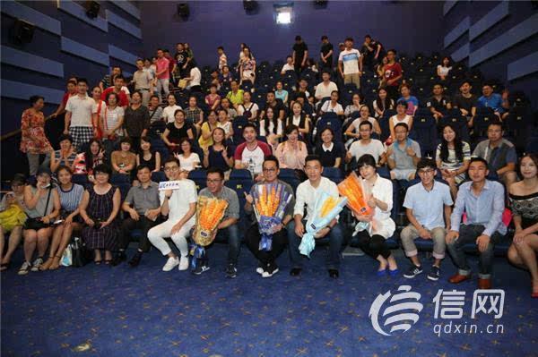 编剧胡蓉蓉,演员邢佳栋一行来到青岛,在cgv星聚汇新都心影城举行发布
